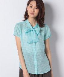 OLD ENGLAND/ラミーギンガムチェックシャツ/501570589