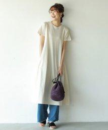 coen/【【『リンネル』7月号掲載・汗染み防止】ロングフレアワンピース/501885070
