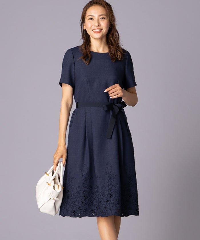4d0f09f27e7d5 裾レースワンピ-ス(501984882)|レディースファッション|阪急百貨店 ...