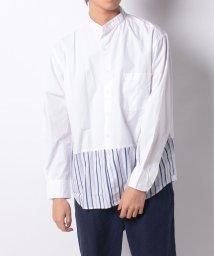 B.C STOCK/バイカラーシャツ/502024009