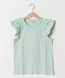 petit main/バリュー袖フリルTシャツ/502248410