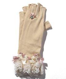 axes femme/バラリボンショートUV手袋/502248627