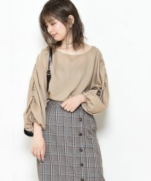 NICE CLAUP OUTLET/ 【natural couture】前後2WAYギャザーブラウス/502252454