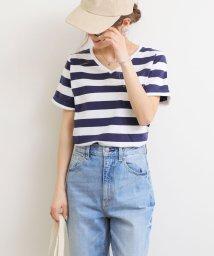 and Me.../ポケット付きVネックTシャツ/502270806