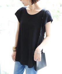 and Me.../フレア袖ロング丈Tシャツ/502270807