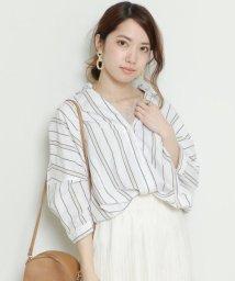 framesRayCassin/ストライプタケノコシャツ/502270849