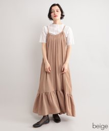 fillil/ヘムフリルジャンパースカート【ブランド:fillil】/502271103