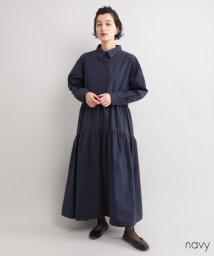 fillil/ティアードシャツワンピース【ブランド:fillil】/502271105