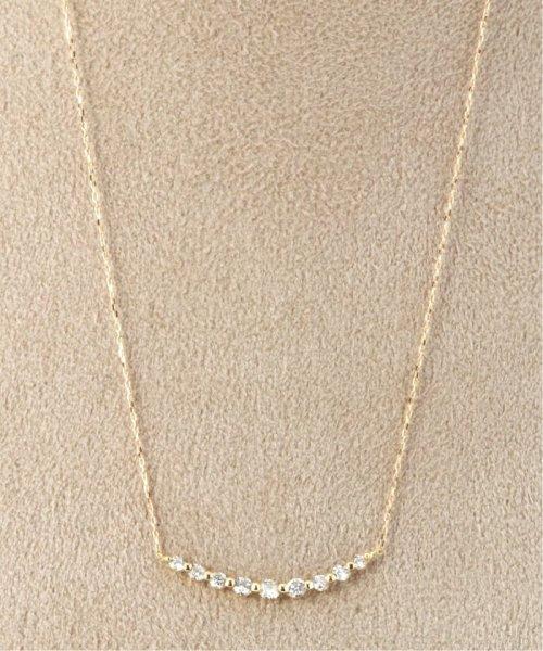 DECOUVERTE(デクーヴェルト)/18KYG 0.3ct ダイヤモンド ネックレス/19110895006610