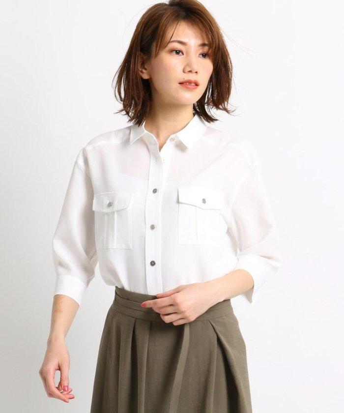 【洗える】サファリ2WAYシャツ