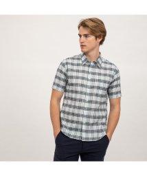 AIGLE MEN/DFTジャカードシャツ半袖/501930348