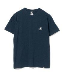 BEAMS MEN/STARTER BLACK LABEL × BEAMS / 別注 バック ロゴ Tシャツ/501938439
