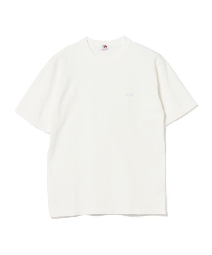 FRUIT OF THE LOOM × BEAMS / 別注 ワンポイント Tシャツ