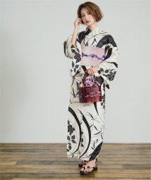 titivate/古典柄綿麻単品浴衣/502009217