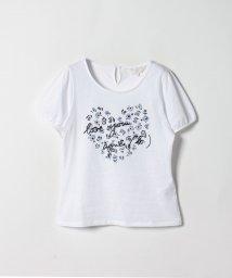 To b. by agnes b./WG29 TS フラワーハートTシャツ/502248766