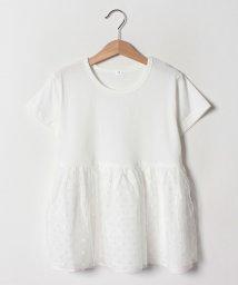b-ROOM/【WEB限定】ペプラム半袖Tシャツ/502252537