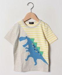 kladskap/恐竜切替半袖Tシャツ/502252546