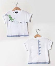 kladskap/恐竜足跡半袖Tシャツ/502252547