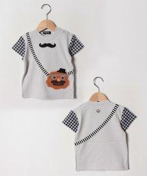 kladskap/ひらめき顔ポシェット半袖Tシャツ/502252550