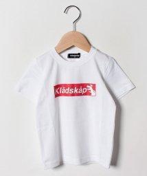kladskap/ボックスロゴ半袖Tシャツ/502252551
