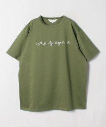 To b. by agnes b./WL84 TS ロゴビッグシルエットTシャツ/502267954