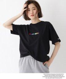 BASECONTROL/コラボ別注 PLAYBOY プレイボーイ 刺繍 半袖 Tシャツ/502277880