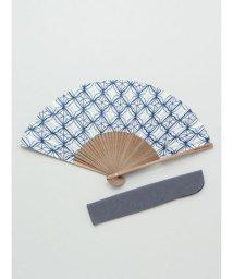 KAYA/【カヤ】和の香り 菱文様紙扇子 袋付き 7HJP9206/502278350
