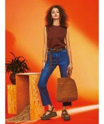Mila Owen/ベーシックノースリーブTシャツ/502278601