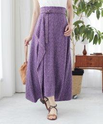 Mila Owen/サマーツイードマキシスカート/502278612