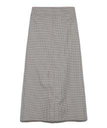 Mila Owen/Wステッチデザインスカート/502278802