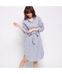 GUESS/ゲス GUESS CHECK SHIRT ONEPIECE (BLUE)/502278927