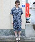 haco!/【mer8月号掲載】京都の浴衣屋さんと作った浴衣生地のシャツワンピース/500343141