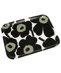 Marimekko/マリメッコ トレー MARIMEKKO 067767 030 P. UNIKKO PLYWOOD TRAY BLACK/WHITE/502045248