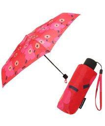 Marimekko/MARIMEKKO 038653 301 MINI-UNIKKO MINI MANUAL UMBRELLA 折りたたみ傘 RED/DARK RED/502045379