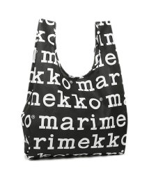 Marimekko/MARIMEKKO 41395 910 MARILOGO SMARTBAG スマートバッグ 折りたたみ トートバッグ BLACK/WHITE/502045412