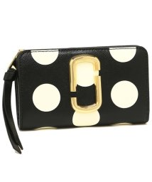 Marc Jacobs/MARC JACOBS M0014836 002 THE DOT SNAPSHOT COMPACT WALLET レディース 二つ折り財布 ドット 水玉/502045440
