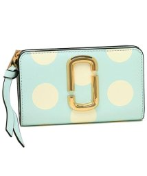 Marc Jacobs/ MARC JACOBS M0014836 498 THE DOT SNAPSHOT  COMPACT WALLET レディース 二つ折り財布 ドット 水玉/502045441