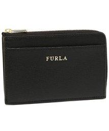 FURLA/ FURLA 907847 PR75 B30 O60 BABYLON M CREDIT CARD CASE バビロン 名刺入れ・カードケース 無地 ONYX 黒/502045447