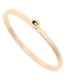 COACH/COACH F27186 RGD SIGNATURE HINGED BANGLE レディース バングル ROSE GOLD/502045487