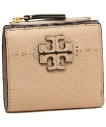 TORY BURCH/ TORY BURCH 45246 288 McGRAW MINI FOLDABLE WALLET レディース 二つ折り財布 無地 DEVON SAND/502045491