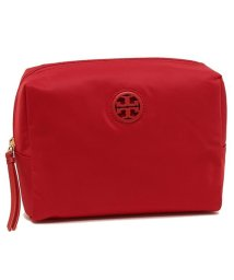 TORY BURCH/ TORY BURCH 52803 641 NYLON MEDIUM COSMETIC CASE レディース ポーチ 無地 LIBERTY RED 赤/502045523