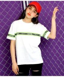 ANAP GiRL/ロゴテープTシャツ/502046302