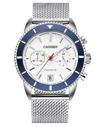 SELECT/〈CADISEN/カディセン〉C9065 クロノGMT ダイバーメッシュベルト 腕時計/502233114