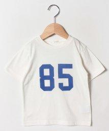 b-ROOM/吸水速乾ナンバープリントTシャツ/502252539