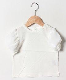 b-ROOM/パフ5分袖Tシャツ/502252540