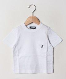 XLARGE KIDS/グラミチココラボ ポケットTシャツ/502252564