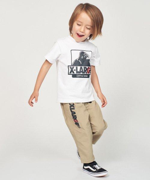 XLARGE KIDS(エクストララージ キッズ)/グラミチコラボ OGゴリラTシャツ/9492227