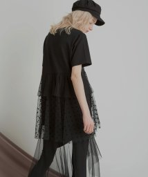 MIELIINVARIANT/Teared Mixture Dress/502268699
