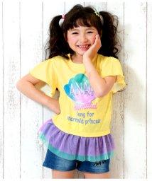 ANAP KIDS/シェル柄フリルチュールTOPS/502279391