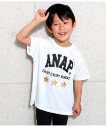ANAP KIDS/箔星ANAPロゴBIGTシャツ/502279392